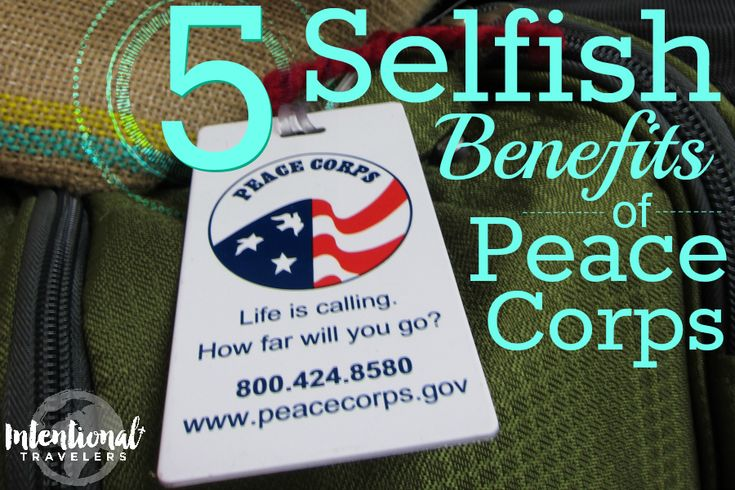 5 Selfish Benefits of Peace Corps | An RPCV (Jamaica) couple looks back after one year at the best benefits from volunteer service