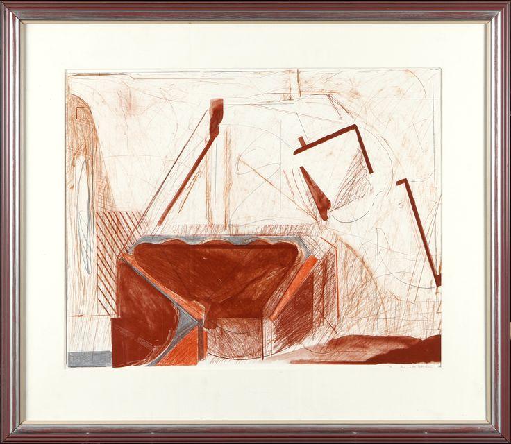 Jan-Kenneth Weckman, litografia - Hagelstam A124