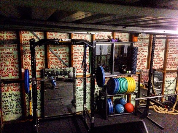 Best garage gym inspirations images on pinterest