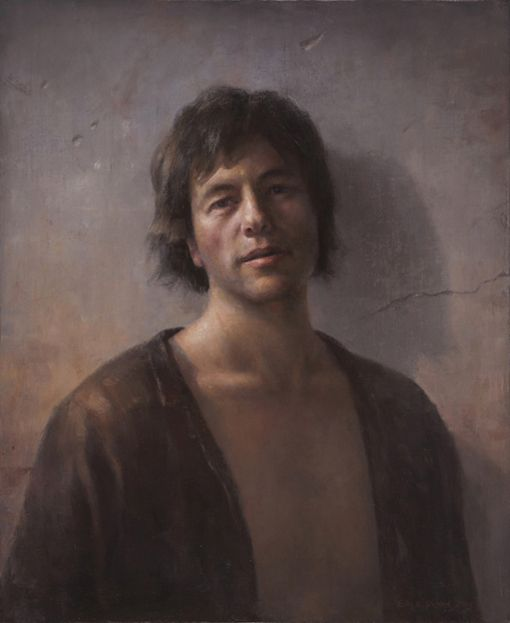 """Selfportrait with open shirt""  by Billy Roy Økland"