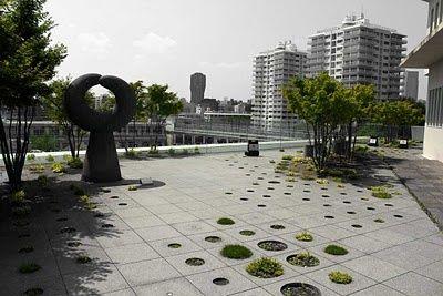 KEIO UNIVERSITY ROOF GARDEN. Tokyo. 2012.
