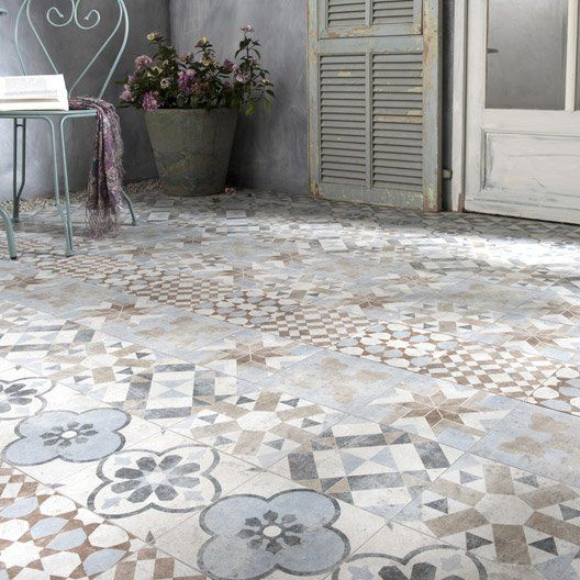 633 best CARREAUX CIMENT images on Pinterest Flooring, Tiles and - ciment colore pour terrasse