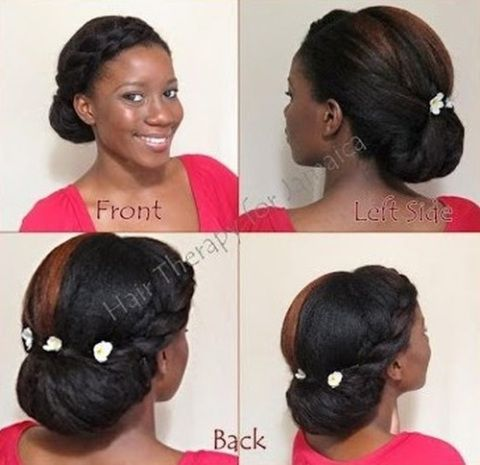 how to make ponytail of straight brazilian weave : ... Black women natural hairstyles, Protective styles and Twist updo