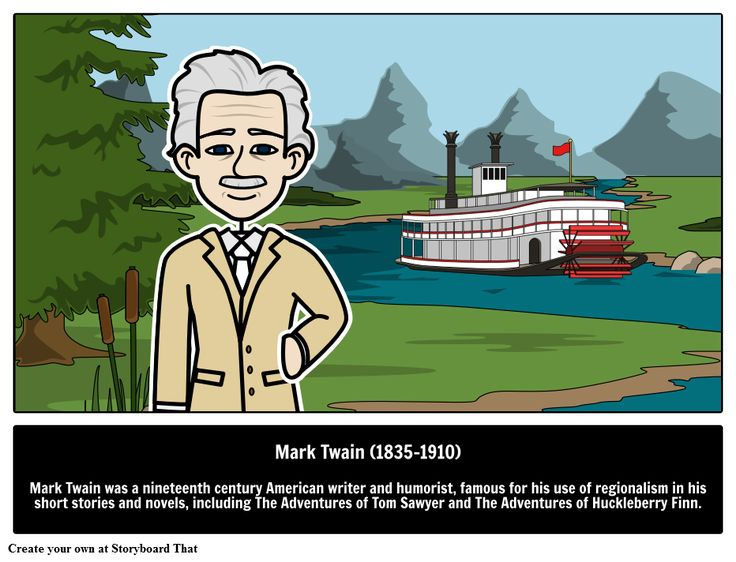 Mark Twain Books & Short Stories, one of the famous authors and writers & great people. Find biography, quotes, facts, of Huckleberry Finn & Tom Sawyer.