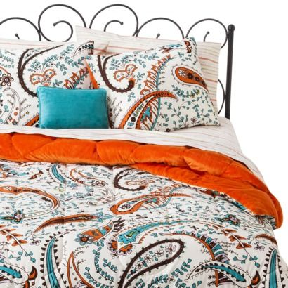 Xhilaration Paisley Bed In A Bag Decorate Bedroom
