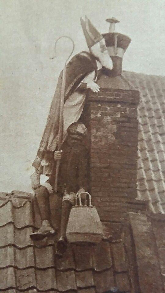 Op hoge daken, Sint en Piet