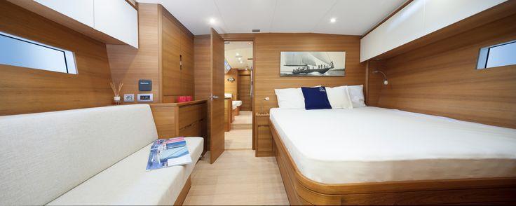 #Solaris 58 - Owner cabin