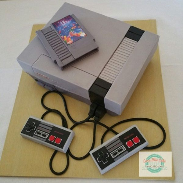This NES Console is Actually A Cake