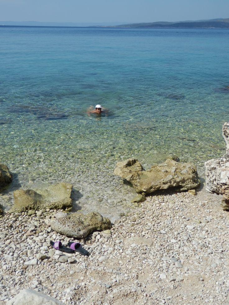 Naše pláž: jhrdy.webgarden.cz. #JiříHrdý #Croatia #Kroatien #Chorvatsko #Adria #Jadran #cestování #bungalovyUranija