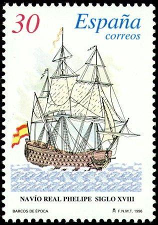 Navio Real siglo XVIII - 1996