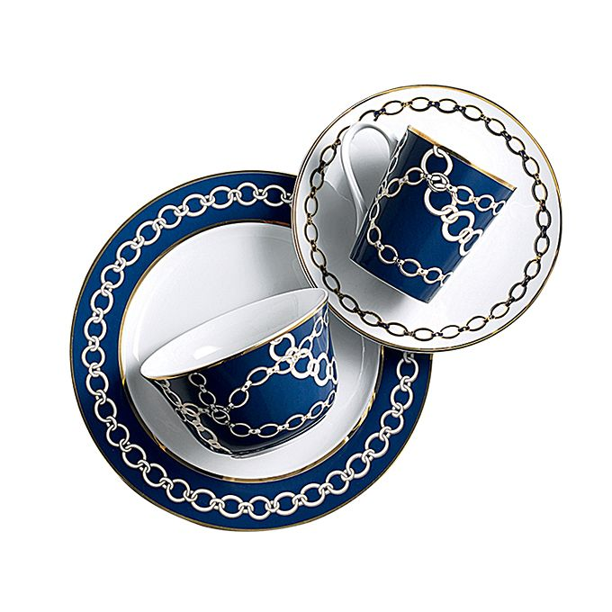 Brides.com: 17 Ideas for a Nautical-Themed Wedding. Add These Nautical Dishes to Your Registry. Dinnerware, $58 for a four-piece place setting,  C. Wonder  See more casual dinnerware registry items.