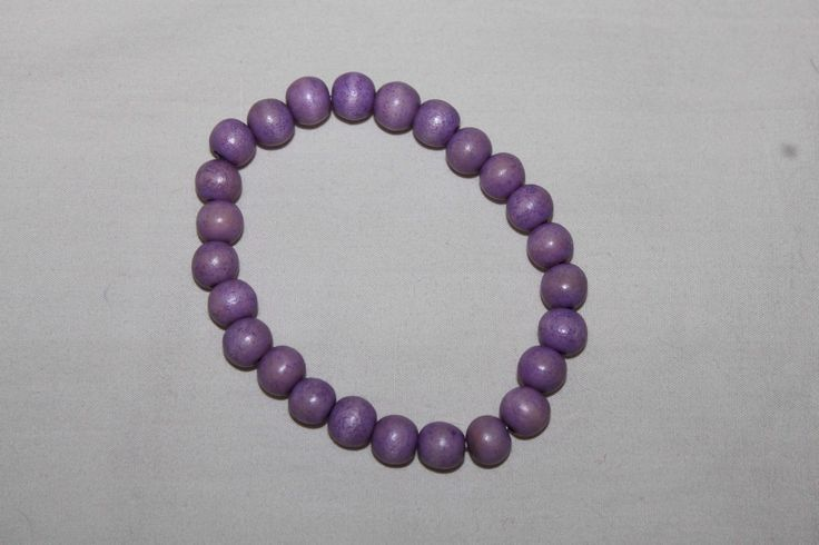 cool Wooden bead bracelet