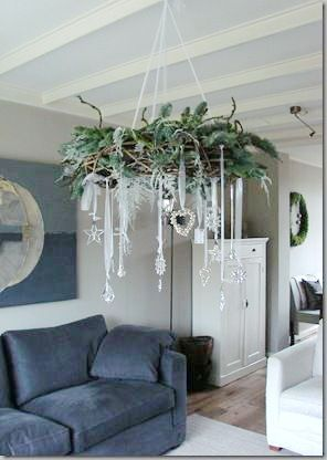 Top 18 Shabby Chic Christmas Decor Ideas – Cheap & Easy Interior Party Design Project - Way To Be Happy (4)