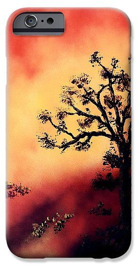 Way To The Light IPhone 6s Case Printed with Fine Art spray painting image Way To The Light by Nandor Molnar (When you visit the Shop, change the orientation, background color and image size as you wish)