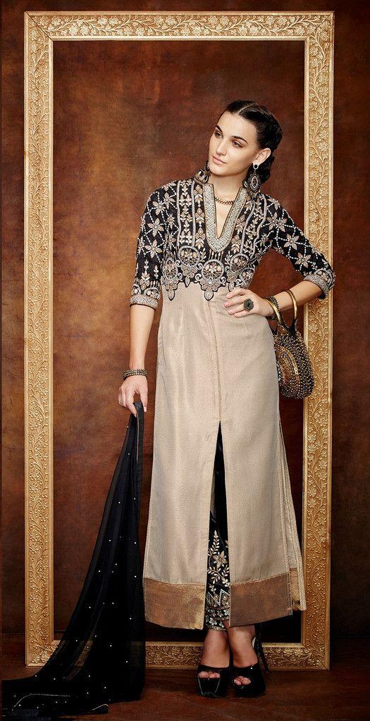 Dazzling Salwar Kameez made with Georgette @ fashionsbyindia.com