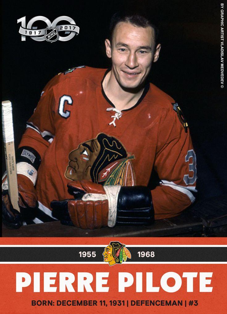 Pierre Pilote #icehockey #nhl #ChicagoBlackHawks #TorontoMapleLeafs