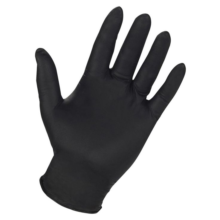 CLC Work Gear 2337 Powder-Free Nitrile Disposable Gloves - 100 Count - 23709280
