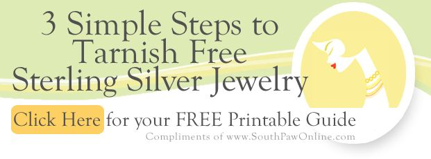 Jewelry care cleaning guide silver jewelry pdf and for How do i clean sterling silver jewelry