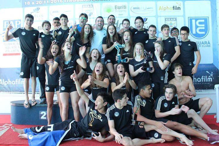 Pinheiros conquista o 13º título do Campeonato Paulista Juvenil de Natação de Verão