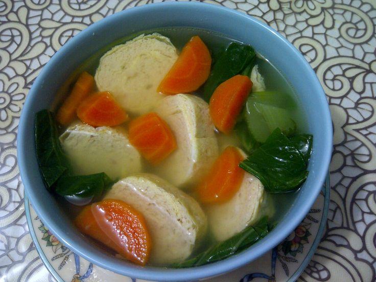 Sup ayam gulung