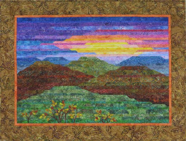 Landscape Quilt Patterns Kits : 70 best images about My Landscape Quilts on Pinterest Quilt, A project and Landscape quilts
