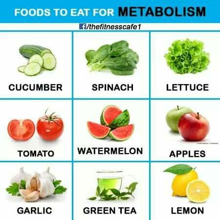 Foods for METABOLISM