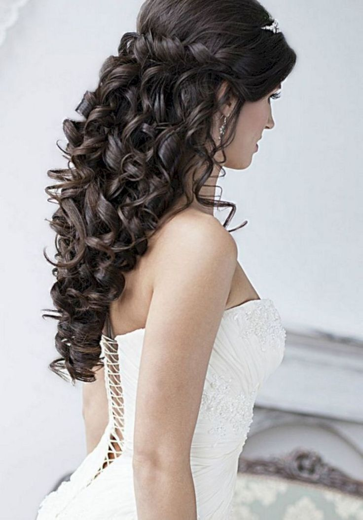 25+ Awesome Wedding Hairstyles For Long Hair Ideas