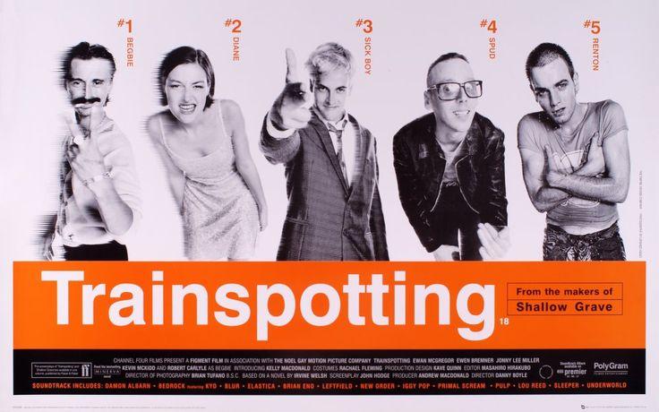 Trainspotting (1996) poster