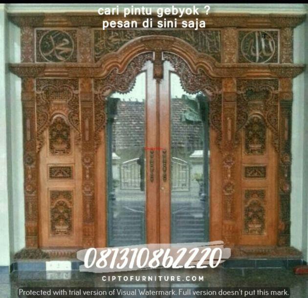 Rumah Minimalis Pintu Gebyok Bali