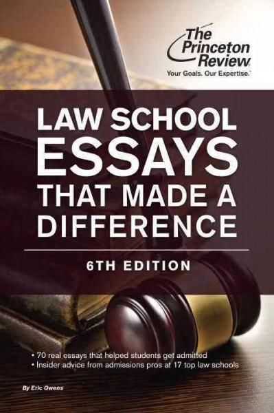 The inside word on law school admissions. To get into a top law school, you need more than high LSAT scores and excellent gradesyou also need a personal statement that shines. Law School Essays That M