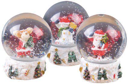 Christmas Gift 96641 Boule à Neige Modèle aléatoire   8 x 8 x 11 cm