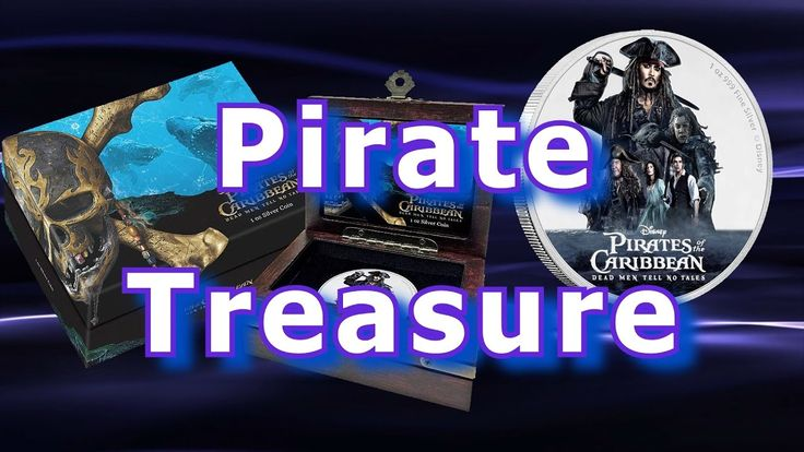 Pirates of the Caribbean Silver Coin Released