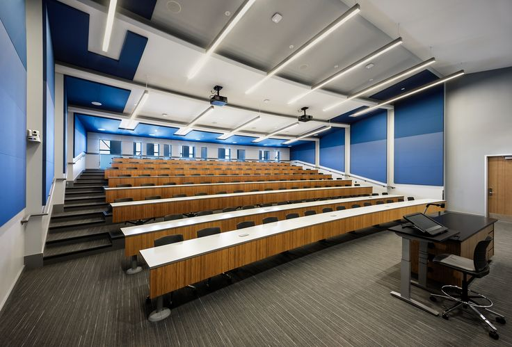 Kay-Twelve.com Arrange your high school classroom into a lecture hall.