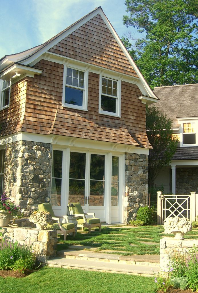 17 best images about gable details on pinterest polymers for Shingle style siding