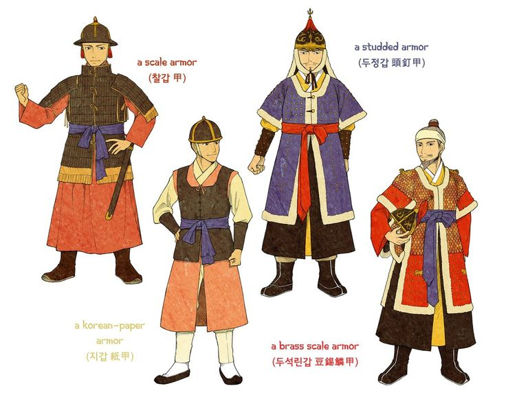 Joseon Dynasty Armors by Glimja.deviantart.com on @DeviantArt