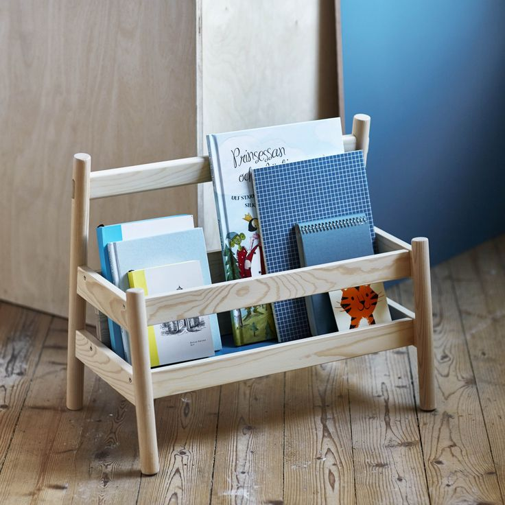 FLISAT boekenstandaard | #IKEA #IKEAnl #nieuw #hout #boeken #lezen #kinderen #opbergen