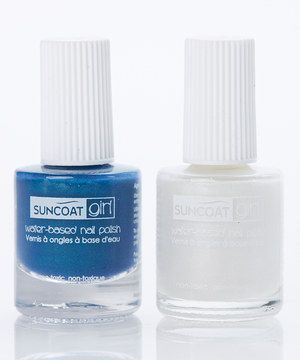 Love this Mermaid Blue & Sparkling Snow Nail Polish Set by Suncoat Girl on #zulily! #zulilyfinds