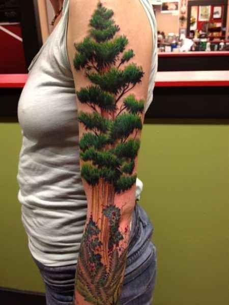 50 tatuajes de naturaleza increíblemente preciosos