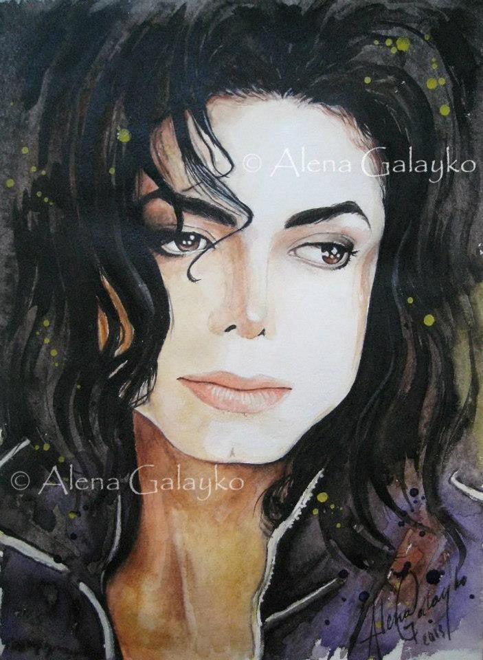Michael Jackson by AlenaGalayko.deviantart.com on @deviantART