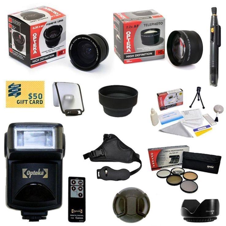 Best Value Advanced Lens Kit for Nikon D3300 D3200 D5200 D5100 D5000 D3100 D3000
