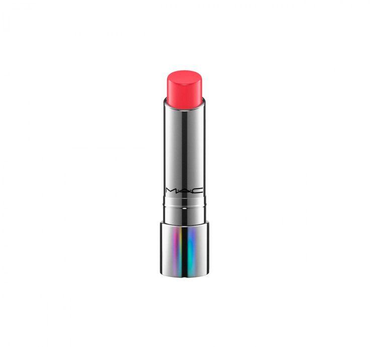 O Tendertalk Lipbalm da MAC é um hidratante labial translúcido que muda de cor conforme a temperatura da pele, criando uma tonalidade personalizada. São cinco opções de cor adaptáveis aos seus lábios. R$ 99.
