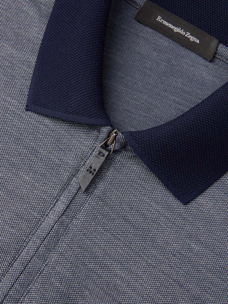 蓝色 Polo 衫 SS17 9937891 | Zegna