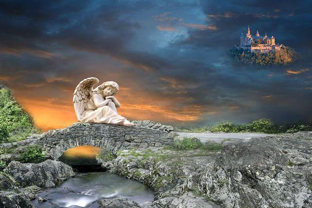 Zapiski Mazurskie: Czy wierzymy w aniołów?