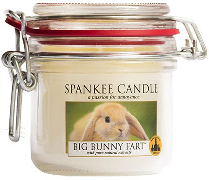 Makers of Funny Candles - The Perfect Weird Smelling GAG Gift - Funny Yankee Candles & Art