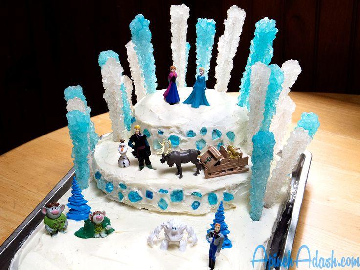 Rock Candy Cakes Google Search Frozen Sheet Cake Rock