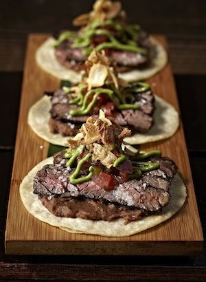 Gourmet Tacos - Hot Taco Spots, Taco Ideas & Bacon Tortilla Recipe
