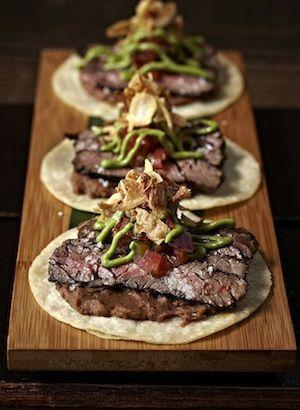 Gourmet Tacos - Hot Taco Spots, Taco Ideas & Bacon Tortilla Recipe