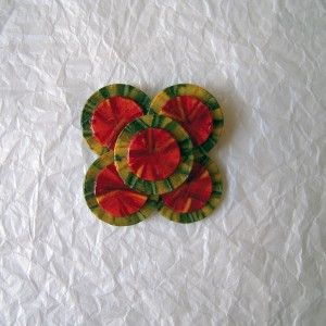 Broche flor modernista | Diseño exclusivo Art & Patch Barcelona