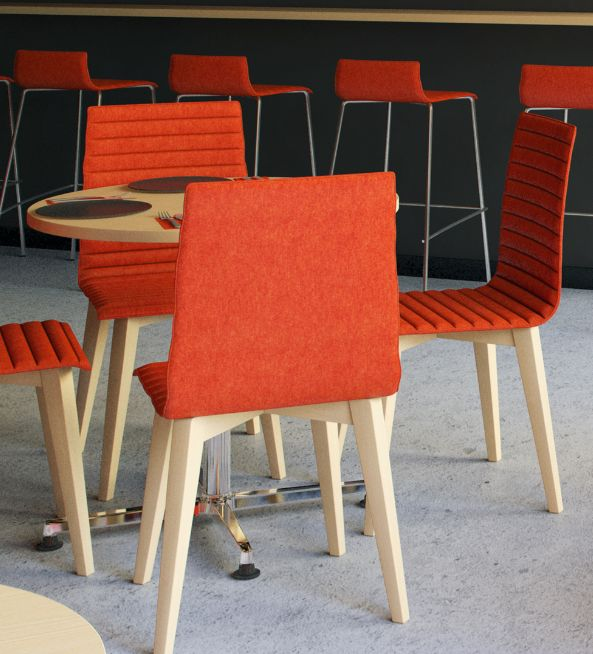 Bjorn Breakout Chair - Product Page: https://www.genesys-uk.com/Bjorn-Breakout-Chair.Html  Genesys Office Furniture Homepage: http://www.genesys-uk.com  The Bjorn Breakout Chair range of chairs and stools, offers a simple and cost effective solution for any communal or breakout area.  It features a beech shell with optional upholstery, on a choice of three leg styles, in either wood or chrome.  The Bjorn Breakout Chair range also has a high stool option.  Staining options available in…