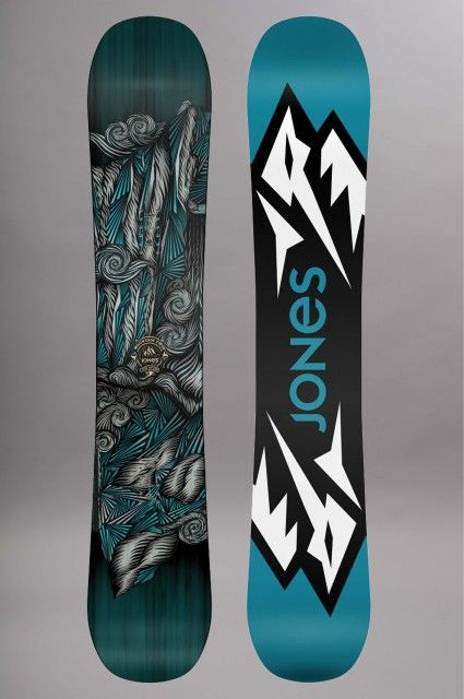 Planche de snowboard homme Jones-Mountain Twin-FW15/16